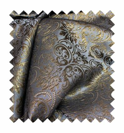 STARRY NIGHT JACQUARD GRIS-ORO