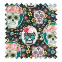 Patchwork estampada