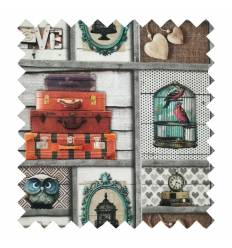 Patchwork Estampado T426